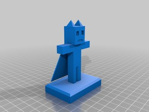 minecraft figure 3 (superheroe cat)