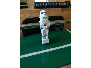 Stormtrooper Foosball Player