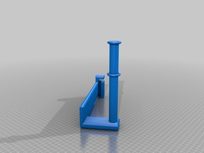 A8 Desktop 3D Printer Prusa i3 Side reel holder.