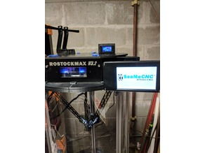 Rostock Max V3.2 Touch Screen Mount