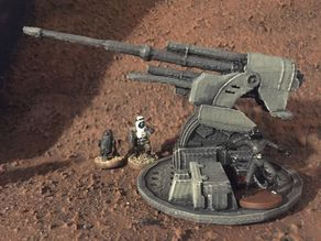 Turbolaser Emplacement (star wars legion scale)