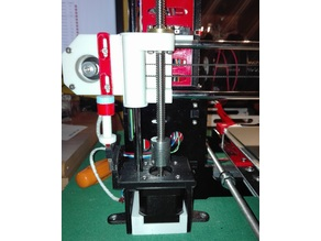 Anet A8 Z motor housing end-stop support and frame holder