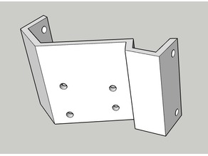AX2 (2 speeds) Gearbox mount for RC4WD Trail somper / D90