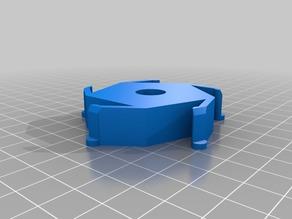 58mm hub worksteel pla