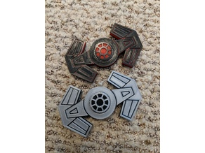 Tie Advanced Fidget Spinner (Modified Caps)