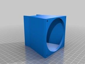 1U / 1HE 80mm Fan Device Cooler Adaptor