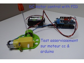 DC motor control with PID