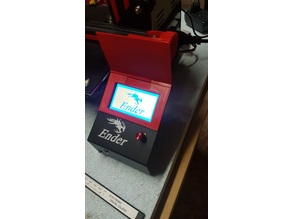 Ender 3 - screen cover LCD cover - adjustment perfect