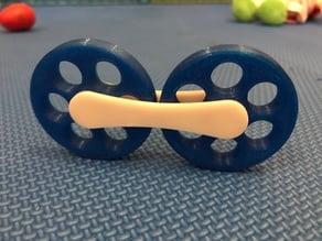 Baby wheel toy
