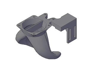 Dual Fang Duct Tevo Tarantula and SN04 Prox Sensor Mount V2