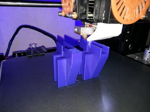 Frame reinforce Anet A8 X axis