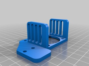 flsun3D i3 fan support for dual extruder and auto levelling