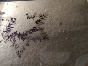 Infinity Fractal Snowflake