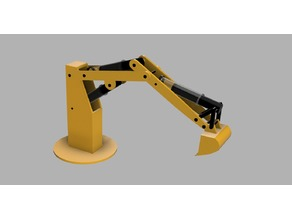 Syringe Excavator Hydraulic/Pneumatic Robotic