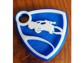 Rocket League Logo Keychain