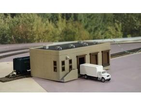 HO Scale Distribution Center