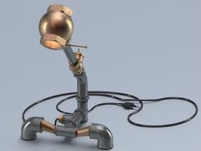 Pipe&fittings lamp