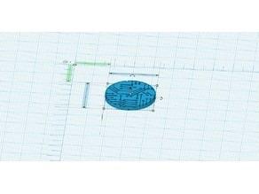 Shadowrun-Cyberpunk Circuit Board Themed Miniature Bases