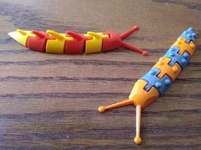 Articulated Slugs (Dual Extrusion)