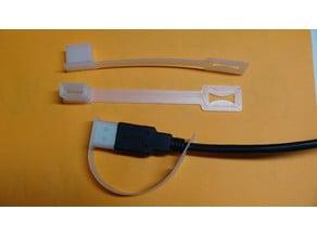 USB Cord Captive Cap - Male A Cover