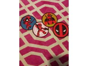 Deadpool coaster set