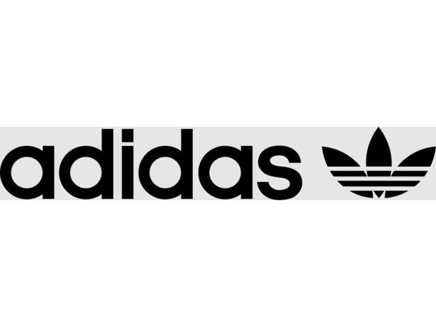 horizontal adidas logo  1971-  by legomaster2149