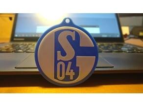 Schalke keychain SO4
