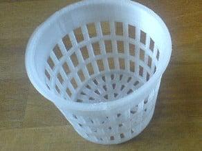 Parametric Net Pot / Net Cup for Hydroponics / Aeroponics / Fogponics