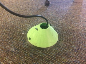 """Floor Outlet Plug Protector (8"""" Cone)"""