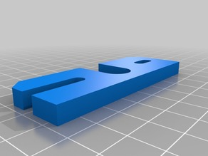 Makerfarm i3v e3d v6 mount plate