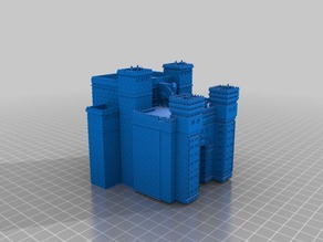 Ishtar Gate Tip Box with Archers and Guards