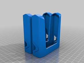 Nerf Magazine (Clip) Carrier - Molle Compatible Left and Right Sides