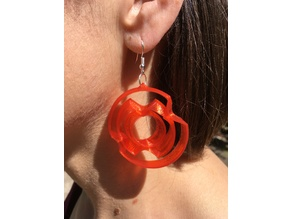 Gyroscope Earrings