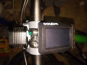 Fahrradakkulampenhalter