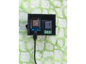 Enclosure: WeMos D1 Mini + Wemos Relay in Dual Case