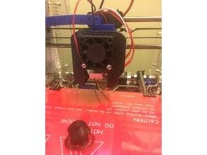 MK8 heatsink fan shroud / print cooler