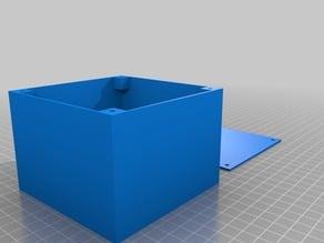 CNC control panel box