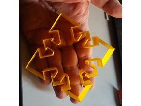 Chaos Star Cookie Cutter
