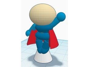 Cartoon Figure - Super Guy - Complete