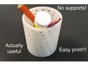 Modern pencil holder 1