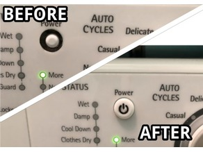 Kenmore Dryer Power Button Cap