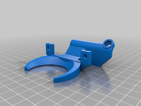 Anycubic i3 Mega Ultrabase part cooling fan duct for E3D V6 hotend