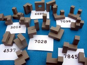 7849 Three Piece Puzzles