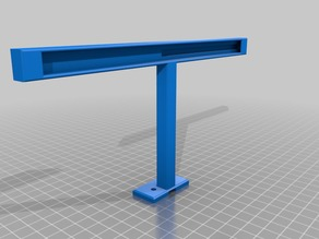 Extrusion LED Light Bar with Wire Tunnel and optional GoPro Mount