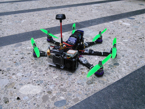 Pollux v2 Hexacopter with 10° forward angled Motors