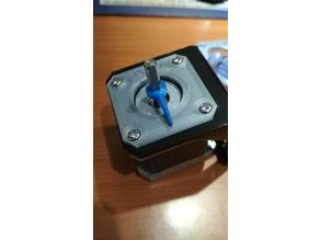 Z axis dial, nema17 step shift indicator