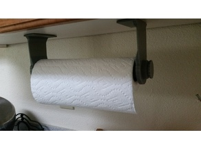 Paper towel rack - under cabinet
