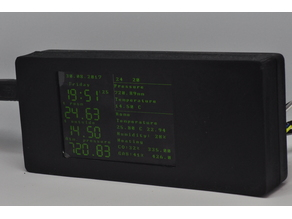 "Arduino Mega with TFT 3.2"" 320x480 Case"