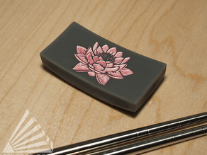 Lotus Chopstick Rest