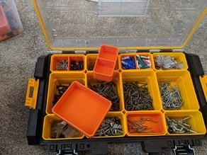 DeWalt Tough System Organizer Nested Cups